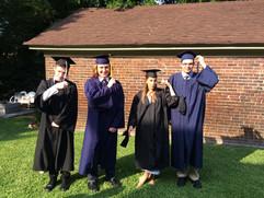 2018 grads flip their tassels