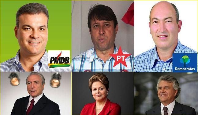 PT, PMDB e DEM estarão juntos nas eleições municipais em Luziânia