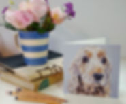 golden-cocker-spaniel-greeting-card-clai