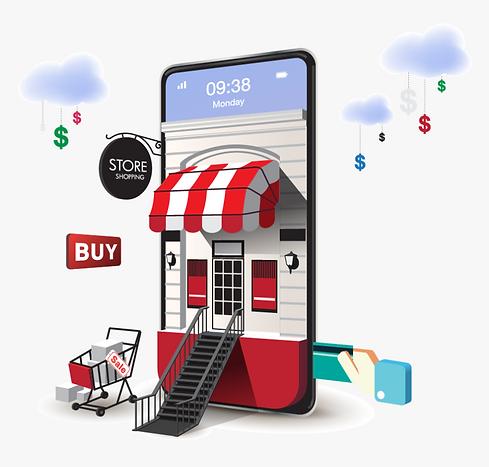 161-1619213_e-commerce-graphic-mobile-e-