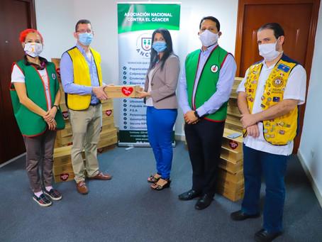 Club Activo 20-30 de Panamá hace entrega de 1.500 sopas La Doña a la ANCEC
