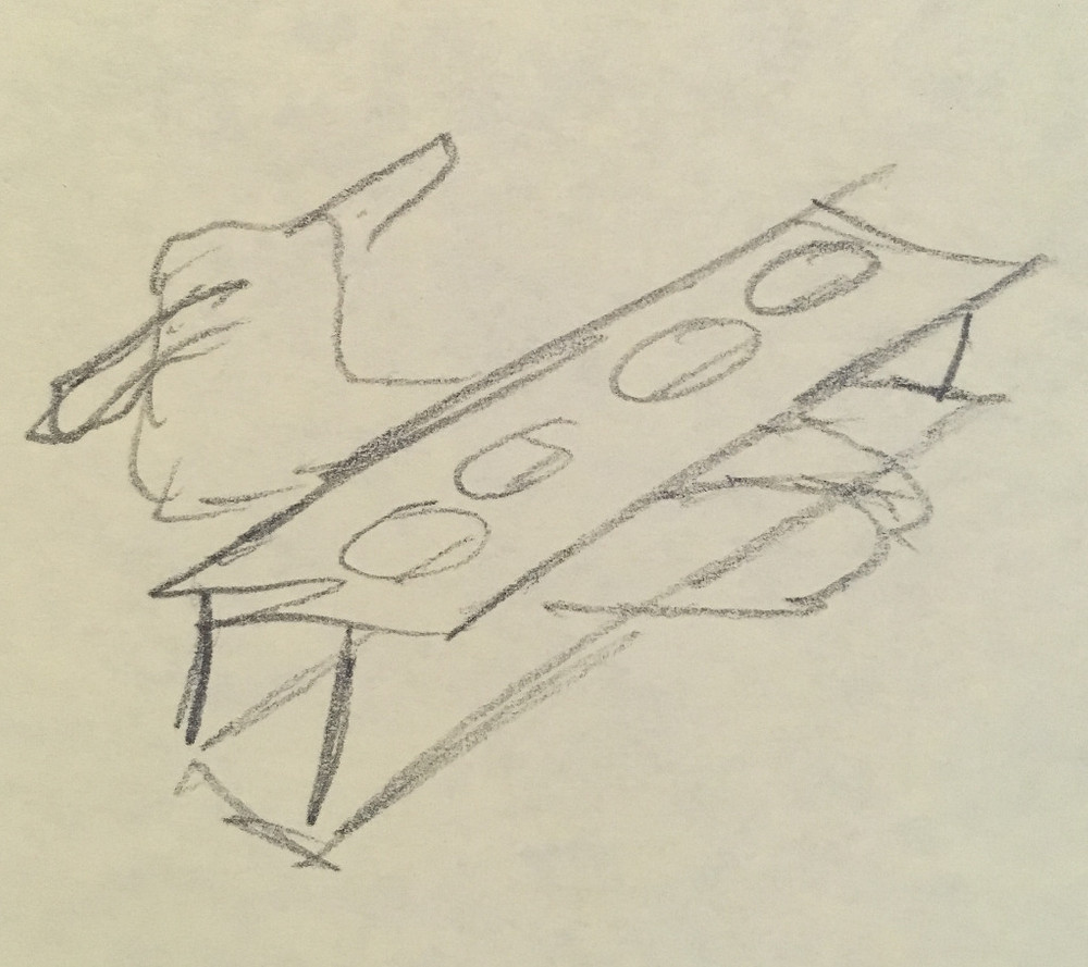 sketch beer flight inventors brewpub