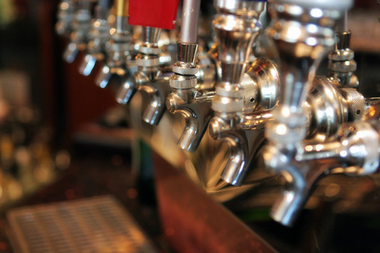 rotating beer on draft (as well as cans and bottles)