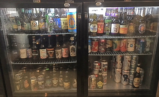 craft beer six shelves