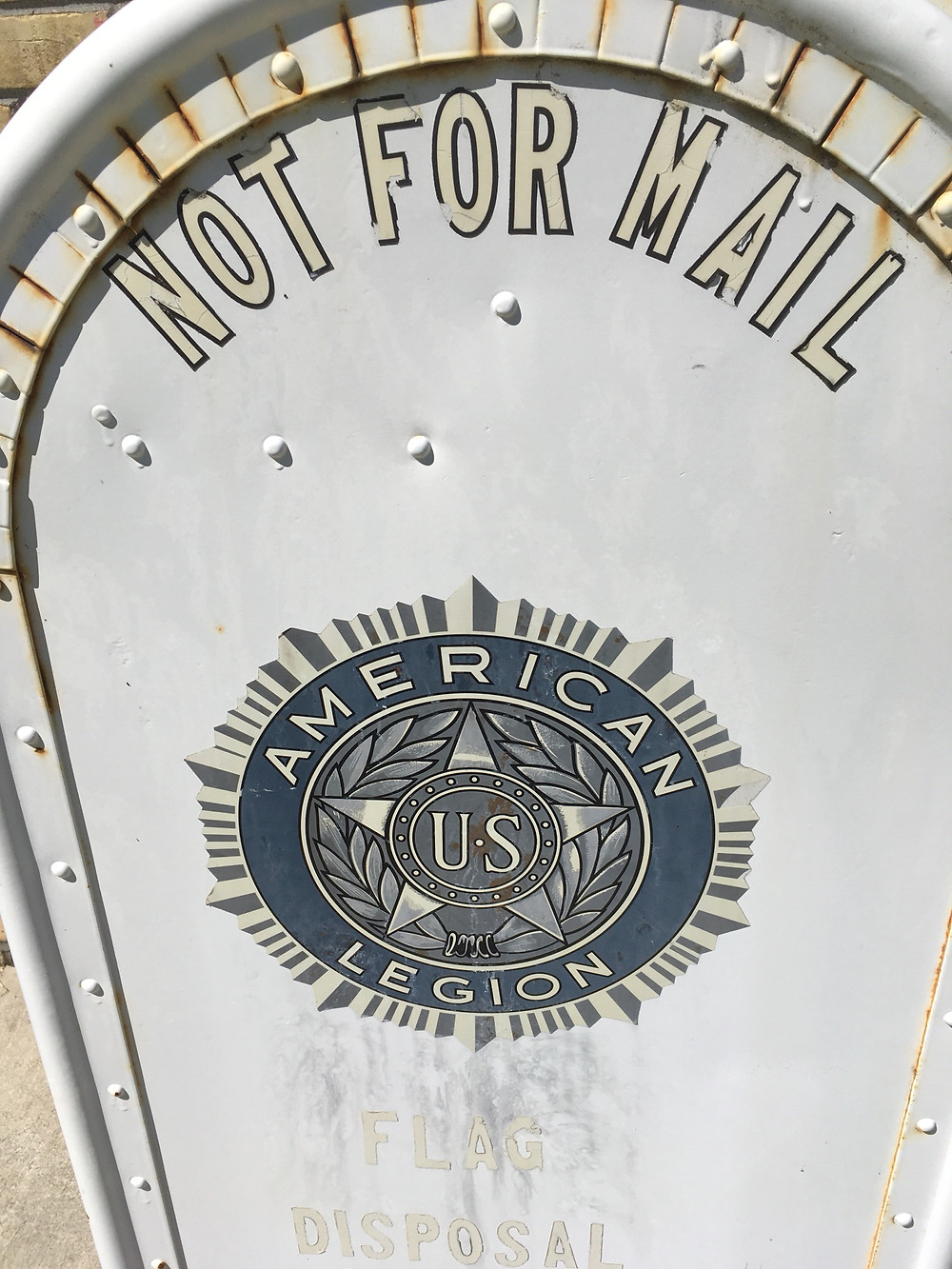 not for mail