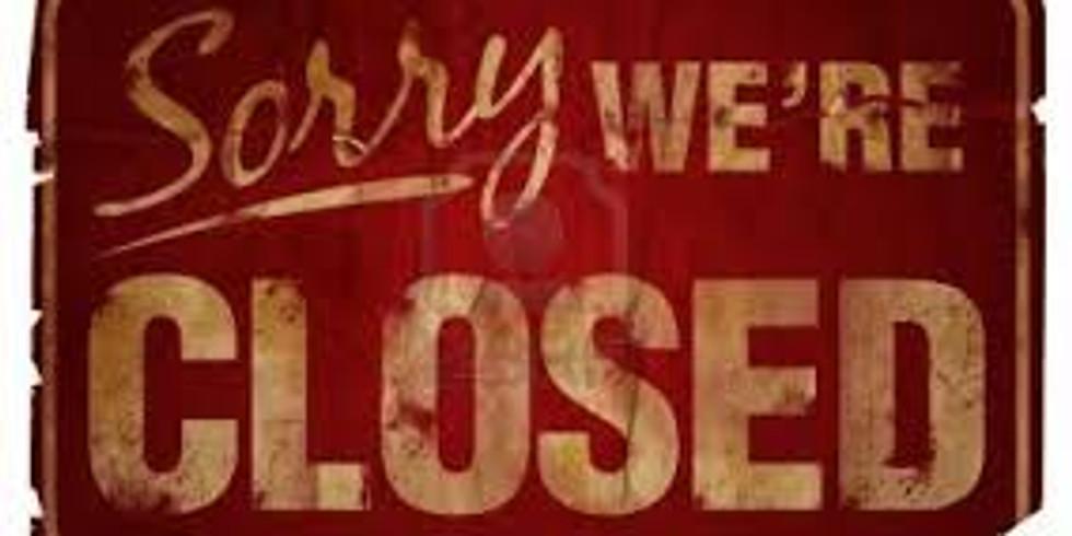 Christmas & Christmas Eve - Closed