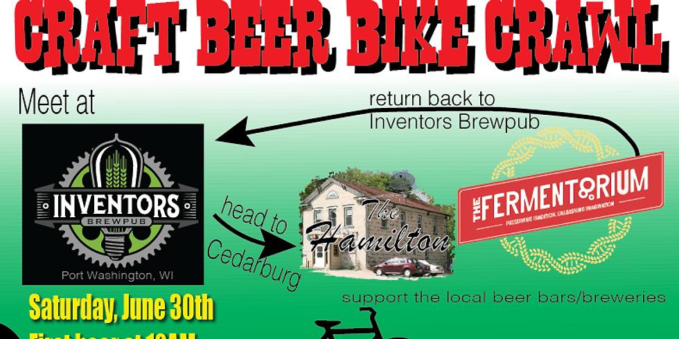 Craft Beer Bike Crawl