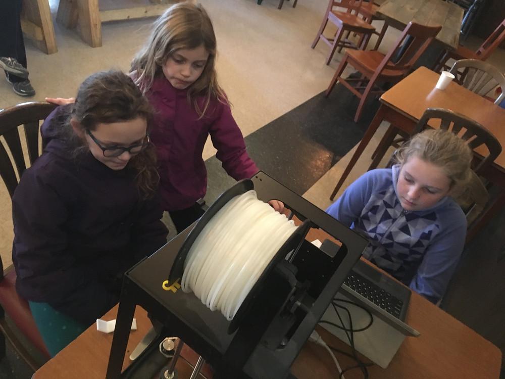 3d printing at inventors brewpub