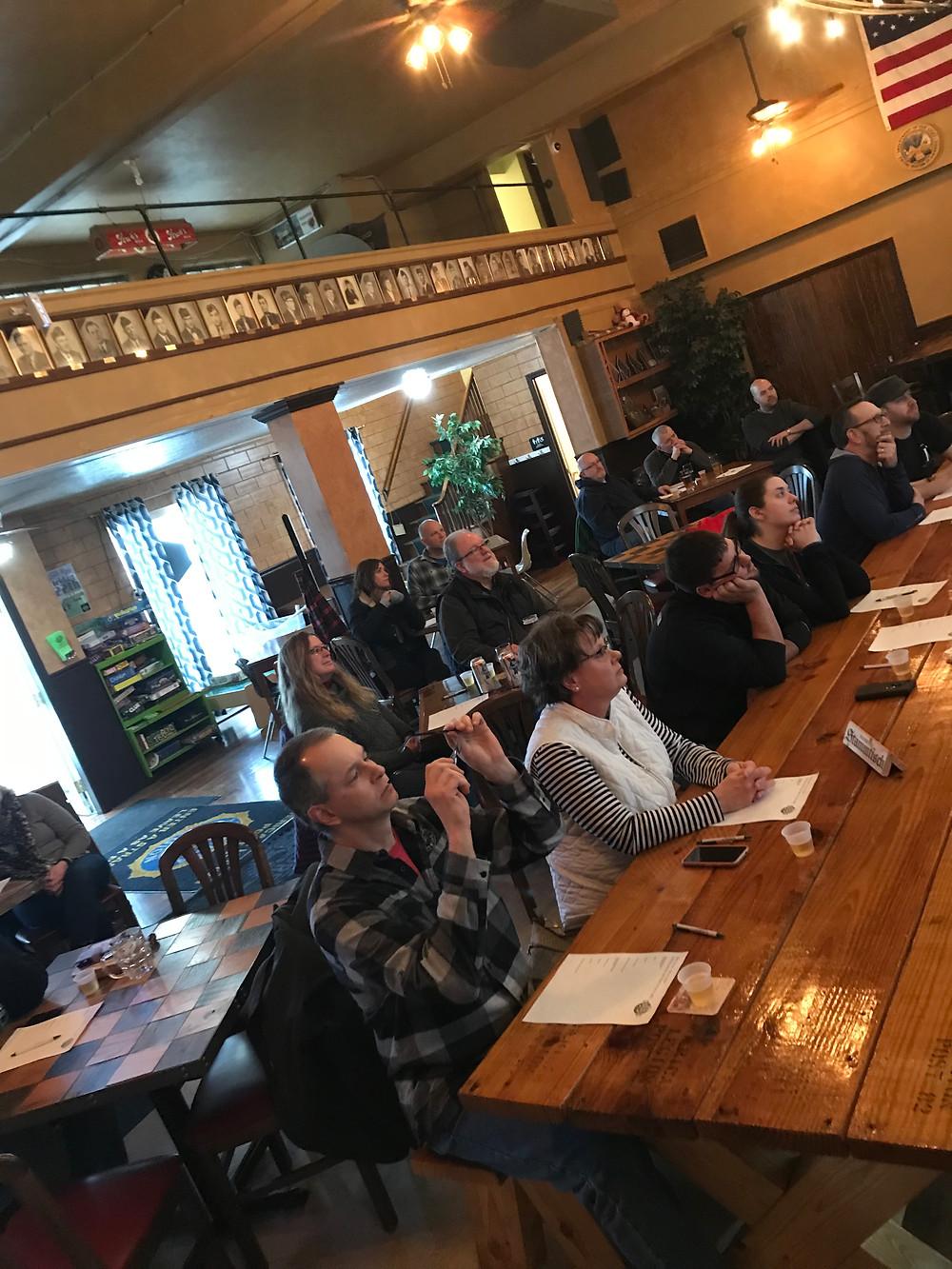inventors brewpub beer school fundraiser