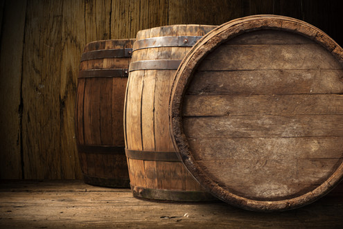 Unique barrel-aged beers