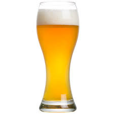 German Hefeweizen glass