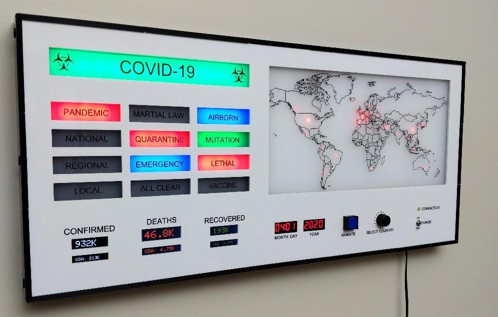 realtime covid10 monitro-tracker