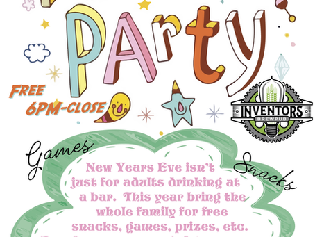 Family Pajama Party (New Years Eve)