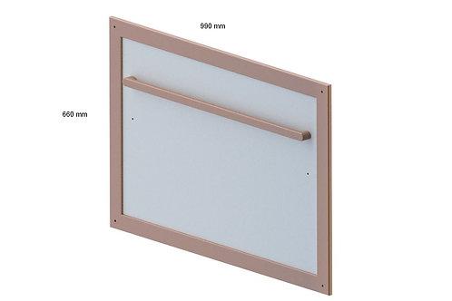 66/99 cm Montessori mirror with pull-up bar