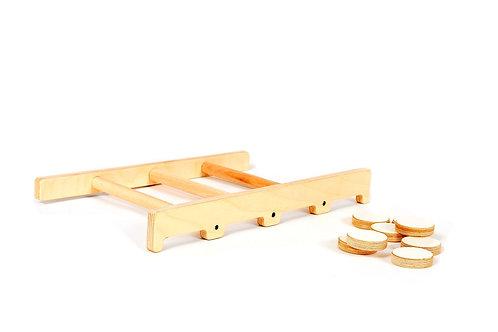 Shuffleboard game
