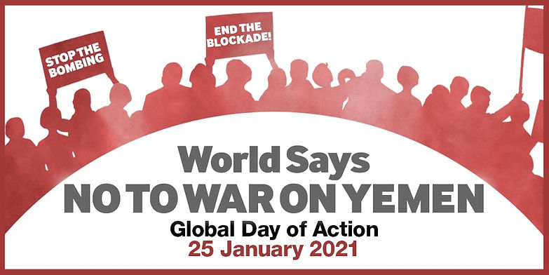 World Says NO TO WAR ON YEMEN Graphic.jp