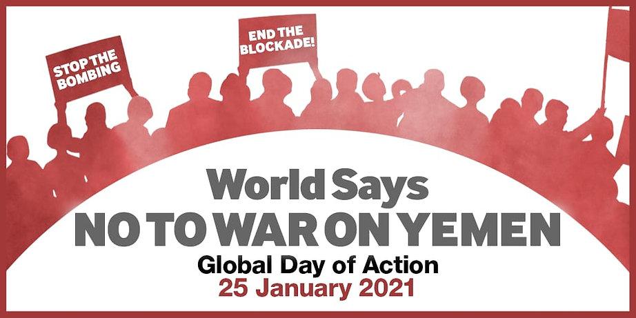 World Says NO TO WAR ON YEMEN Graphic.jp