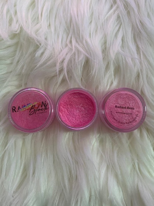 Radiant Rose Fine Pressed Glitter