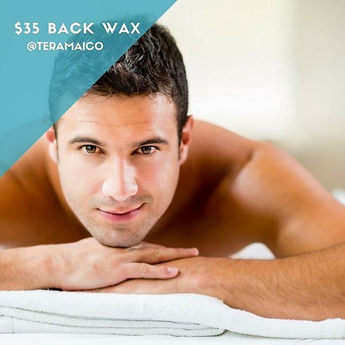 (3) Full Back Wax Sessions