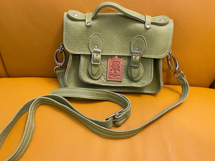 Lime Green Bunkie Soft Satchel