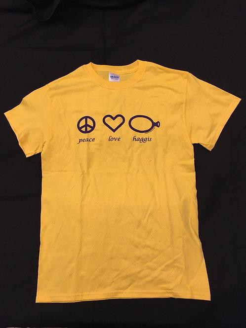 Peace Love & Haggis T-Shirt
