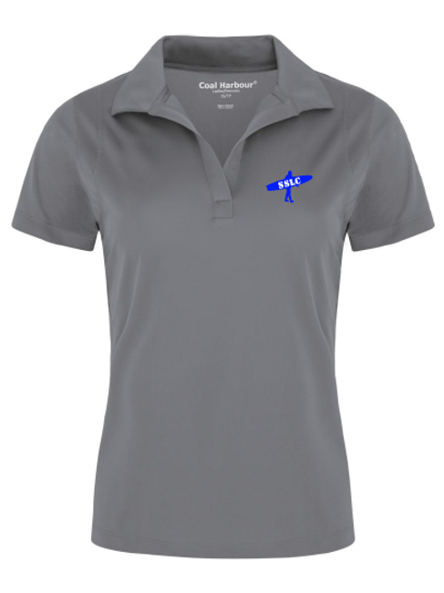 SSLC Womens Grey Polo