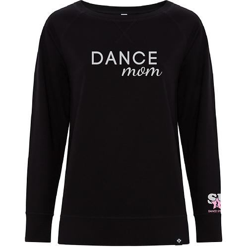 """Ladies """"Dance Mom"""" Crew Fleece"""