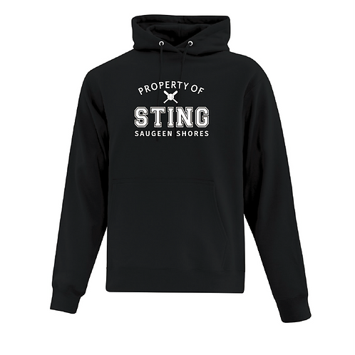 Adult Property of Sting Hoodie