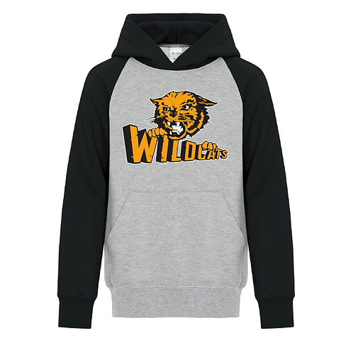 Youth Two Tone Wildcats Hoodie
