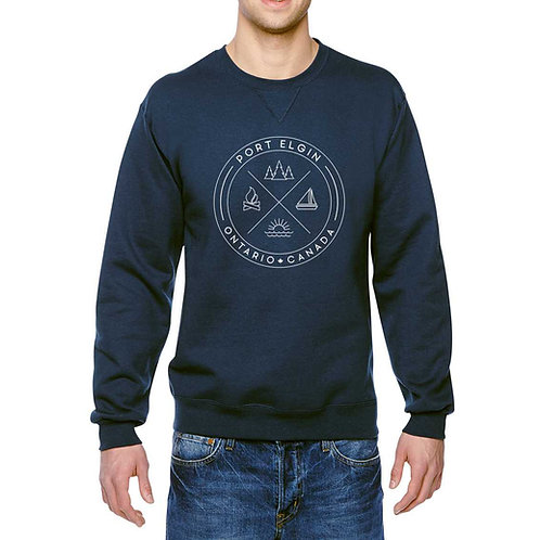"Port Elgin ""X"" Unisex Crewneck"