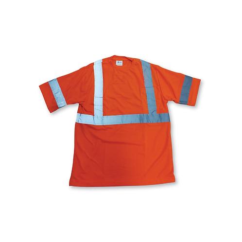BigK Soft Polyester Traffic Safety T-Shirt