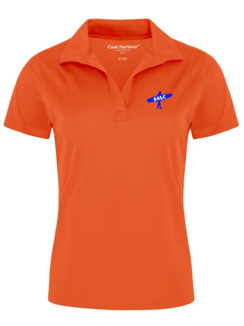 SSLC Womens Orange Polo
