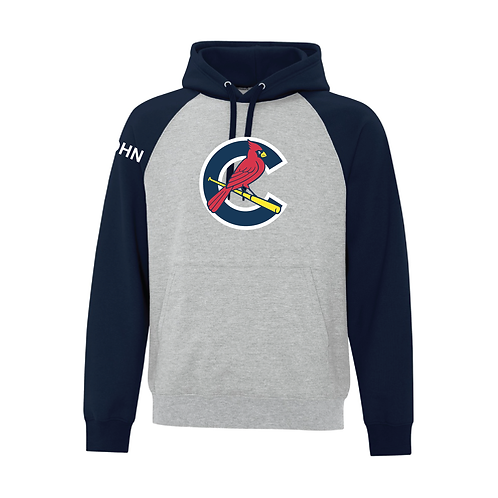 Adult Two Tone Cardinals Hoodie