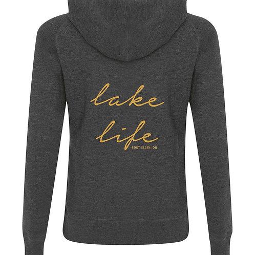 Back to the Lake Ladies Hoodie
