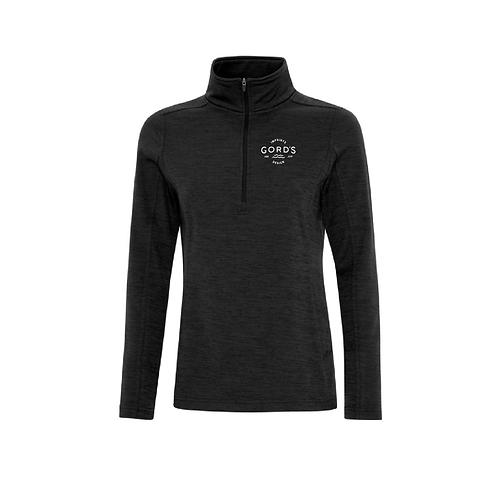 Dynamic Heather Fleece 1/2 Zip Ladies Sweatshirt