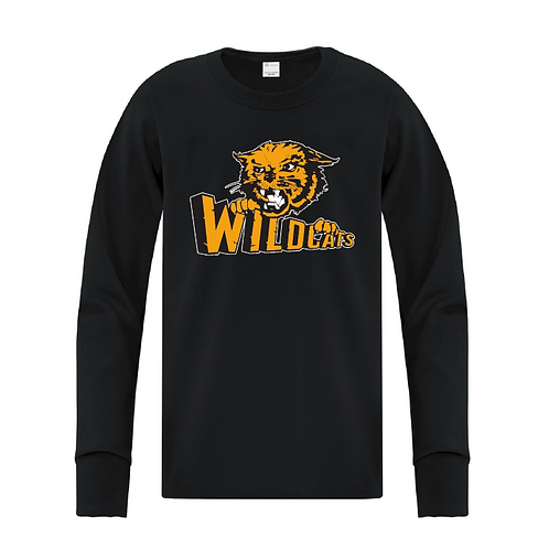 Youth Wildcats Long Sleeve