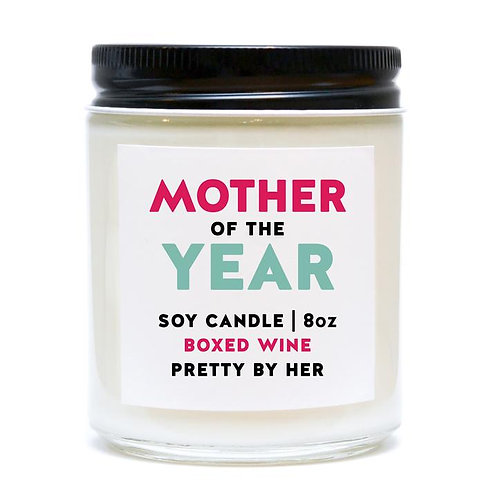 MOTHER OF THE YEAR | CANDLE