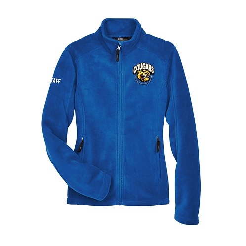 Ladies Staff Fleece zip up