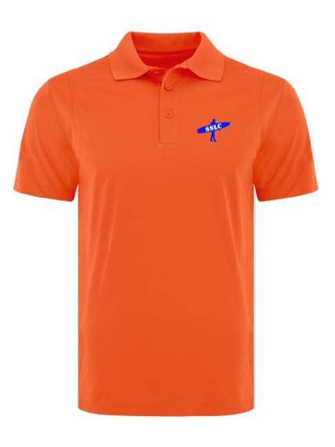SSLC Mens Orange Polo