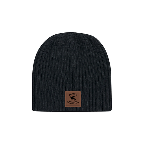 Prance Leatherette Toque - With Pony Tail opening