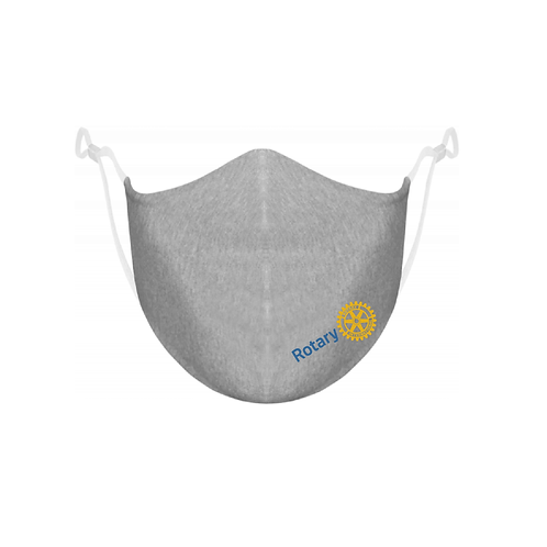 Rotary Heather Grey Mask