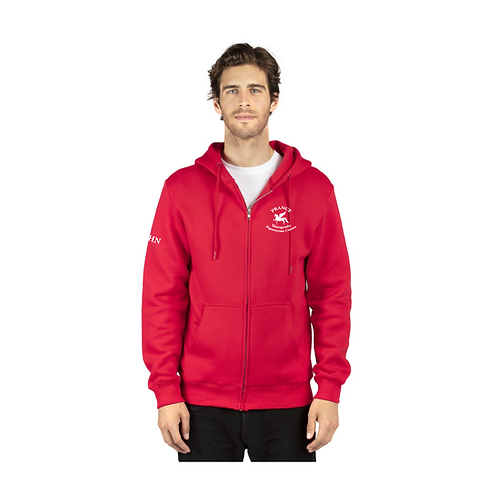 Unisex Prance Fleece Full-Zip Hooded Sweatshirt