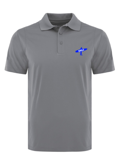 SSLC Mens Grey Polo