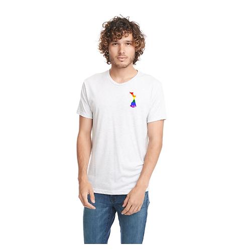 Limited Edition Pride Crew Tee (Pocket logo)