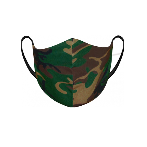 You Can't See Me - Green Camo Mask