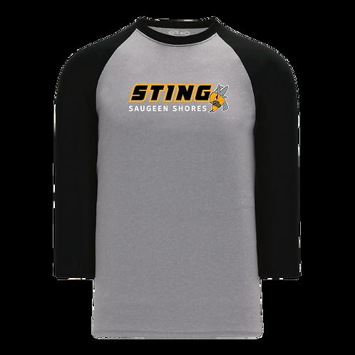Adult Sting 3/4 Ball tee