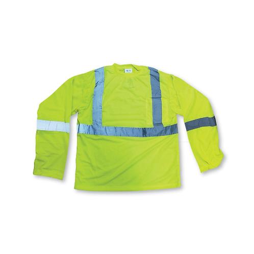 BigK Soft Polyester Traffic Safety Longsleeve