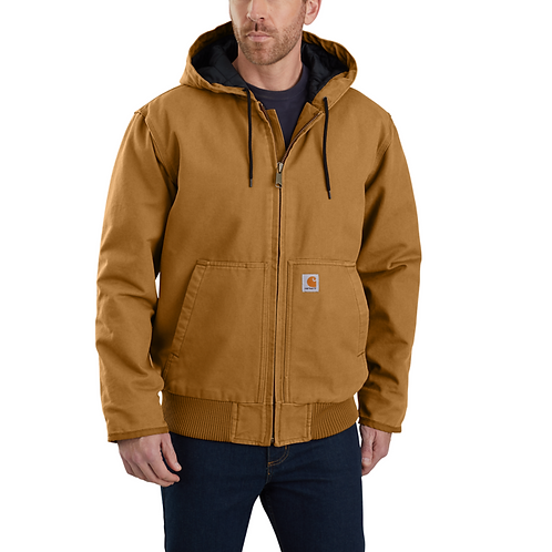 Carhartt Washed Duck Insulated Active Jacket