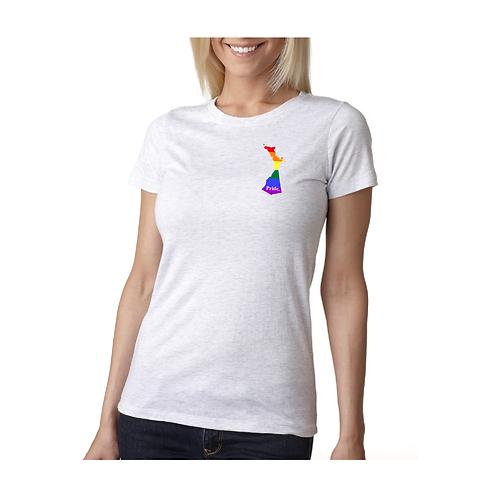 Limited Edition Ladies' Pride Crew Tee (Pocket Logo)