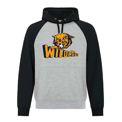 Adult Two Tone Wildcats Hoodie